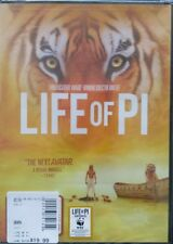 Life of Pi (DVD, 2013) Ang Lee Suraj Sharma Irrfan Khan Brand New Sealed