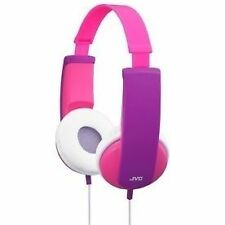 JVC Hakd5p Tiny PHONES Kids Stereo Headphones - Pink