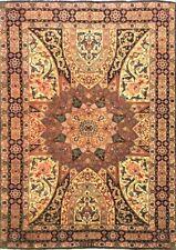 Tappeto Tabriz persiano 60 raj lana e seta mis:160x100