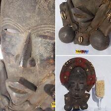 EXTRAVAGANT Dan Gioh Ceremonial Mask Figure Sculpture Statue Tribal African Art