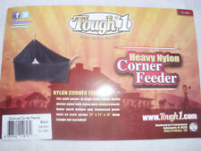 "Cordura Corner Triangular Feeder Trailer/Stall by Tough1. 27"" x 21"" x 13"" New"