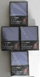 ULTRA PRO TOP LOADERS  - 3 X 4 INCH BLACK BORDER(X100) - FREE UK P&P