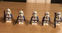 STAR WARS Lot Of 5 Custom 501st Legion Minifigures Clone Troopers SHIPS FREE US
