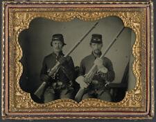 American Civil War Union Soldiers Scott & Nash Ohio USA 6x5 Inch Reprint Photo