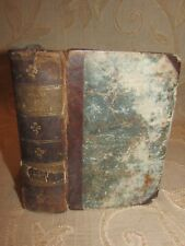 Antique Book Of The Works Of Aristotle In Four Parts - 1792