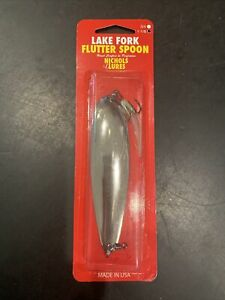 Nichols Lake Fork Flutter Spoon 1-1/8 Oz FS5-118