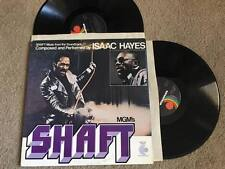 Isaac Hayes Shaft Movie Soundtrack Soul 2 Records lps VG+