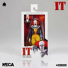 "NECA - Pennywise Stephen King's IT 1990 Clothed 8"" [IN STOCK] • NEW & OFFICIAL •"