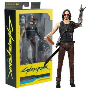 McFarlane Toys Cyberpunk 2077 Johnny Silverhand Action Figurine 2020