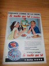 Original old advert. of the 60s - La vache qui rit