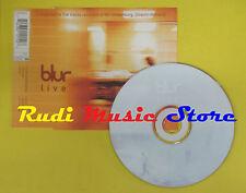 CD Singolo BLUR Live Country sad ballad man 1997 holland EMI no lp mc dvd (S11)