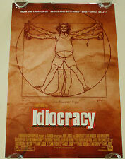 IDIOCRACY 27X40 DS MOVIE POSTER ONE SHEET NEW AUTHENTIC