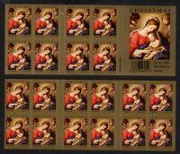 2008 Christmas Madonna Sc 4206a mint booklet plate no. P11111 CV $18