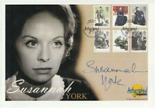24 FEBRUARY 2005 JANE EYRE FIRST DAY COVER HAND SIGNED SUZANNAH YORK SHS
