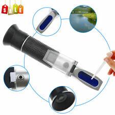 Hot 0-10% Fish Tank Aquarium Salinity Refractometer Salt Water Tester Hydrometer