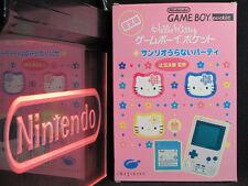 Nintendo Game Boy Pocket Hello Kitty CIB Complete in Box Near-Mint Japan Pink