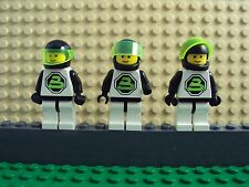 Lego Minifig ~ Lot Of 3 Vintage/Classic Blacktron 2 Astronaut #cdvf6 Spacemen