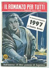 BROWN FREDRIC 1997 IL ROMANZO PER TUTTI 7 1955 CORRIERE DELLA SERA FANTASCIENZA