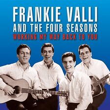 FRANKIE VALLI & THE FOUR SEASONS WORKING MY WAY BACK TO YOU 2CD  (BEST OF/HITS)