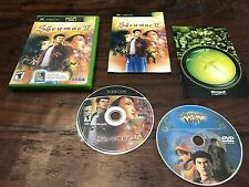 Shenmue II 2 (Xbox) Xbox 360 COMPLETE w/ DVD Adventure Action Fun