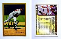 Mike Jackson Signed 1999 Topps #408 Card Cleveland Indians Auto Autograph