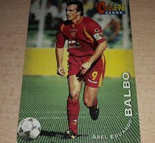 CARD CALCIATORI PANINI 98 ROMA BALBO CALCIO FOOTBALL SOCCER ALBUM