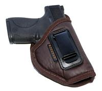 Smith & Wesson S&W M&P Shield 9mm/40 & Shield M2.0 IWB NEW BROWN Gun Holster