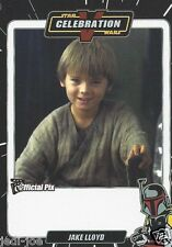 Jake Lloyd Official Pix Star Wars Autograph Trading Card Celebration 5 Exc