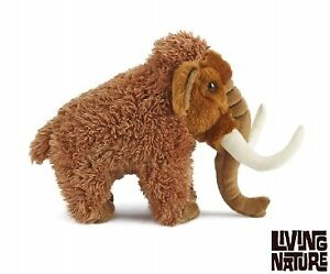 Living Nature Woolly Mammoth 18cm Soft Toy