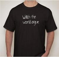 INXS Watch the World Argue Black Michael Hutchence XL T-Shirt Free Shipping!