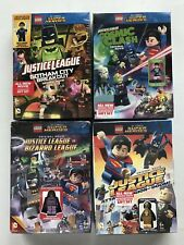 4 New LEGO DC Comics Super Heroes DVD Movies Exclusive Minifigures Lot Nightwing