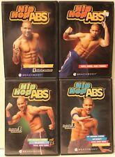 4 Hip Hop Abs workout DVD lot Shaun T dance Level 2 buns thighs abs total body