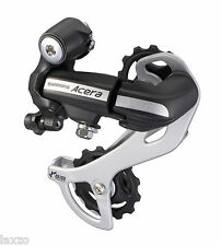 Shimano Acera RD-M360 SGSL 7/8 Speed MTB Bike Rear Derailleur Black Long Cage