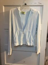 Juicy Couture zip blue  hoodie size large KWW