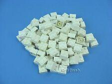 100x LEGO White Standard  Brick 2 x 2 studs Town City Building #3003