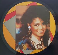 "Janet Jackson - When I Think Of You - 1986 12"" Maxi 45rpm rare large label photo"