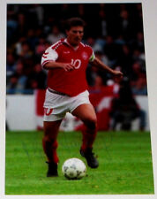 MICHAEL LAUDRUP PERSONALLY HAND SIGNED AUTOGRAPH 12X8 PHOTO DENMARK  SOCCER