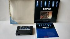 ALIENS 2 MSX MSX2 Game cartridge,Manual,Boxed set tested -a517-