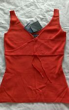 AD ADOLFO DOMINGUES CORAL lovely sleeveless knit top NWT women sz small medium