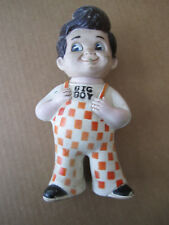 "Rubber ""Big Boy"" figure - 8 3/4"" tall"