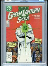 Green Lantern Special #1 CGC 9.8 White Pages Anti-Racism Cover