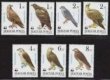 HUNGARY-1983. Protected Birds of Prey/Eagles/WWF Cpl.Set MNH!!! Mi:3625-3630.