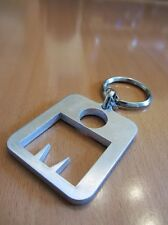 Ironman Triathlon Aluminium Emblem M-Dot Key Ring/Chain