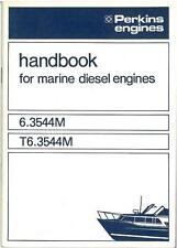 Perkins 6.3544 M T6.3544 M de motores diesel marinos Manual del operador