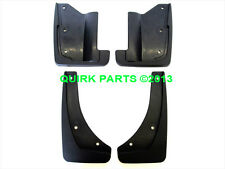 2010-2012 Ford Fusion Front & Rear Black Splash Mud Guard Set OEM NEW Genuine