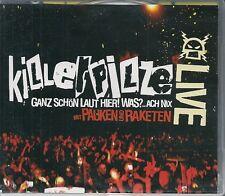 CD 20 TITRES + DVD 15 TITRES + VIDEO CLIPS --KILLERPILZE--MIT PAUKEN UND RAKETEN