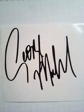 """George Michael firmato Adesivo decalcomania in vinile firma 6"""" x 5"""" Vetro Specchio Auto"""