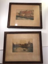 Antique Original Prints Maison Du Pelican Le Lac D'Amour 371/800