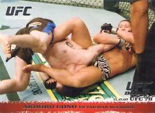 2009 TOPPS UFC ROUND 1 ROOKIE RC DEBUT AKIHIRO GONO #71
