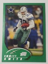 Emmitt Smith  Dallas Cowboys Running Back  2002 Topps card 75